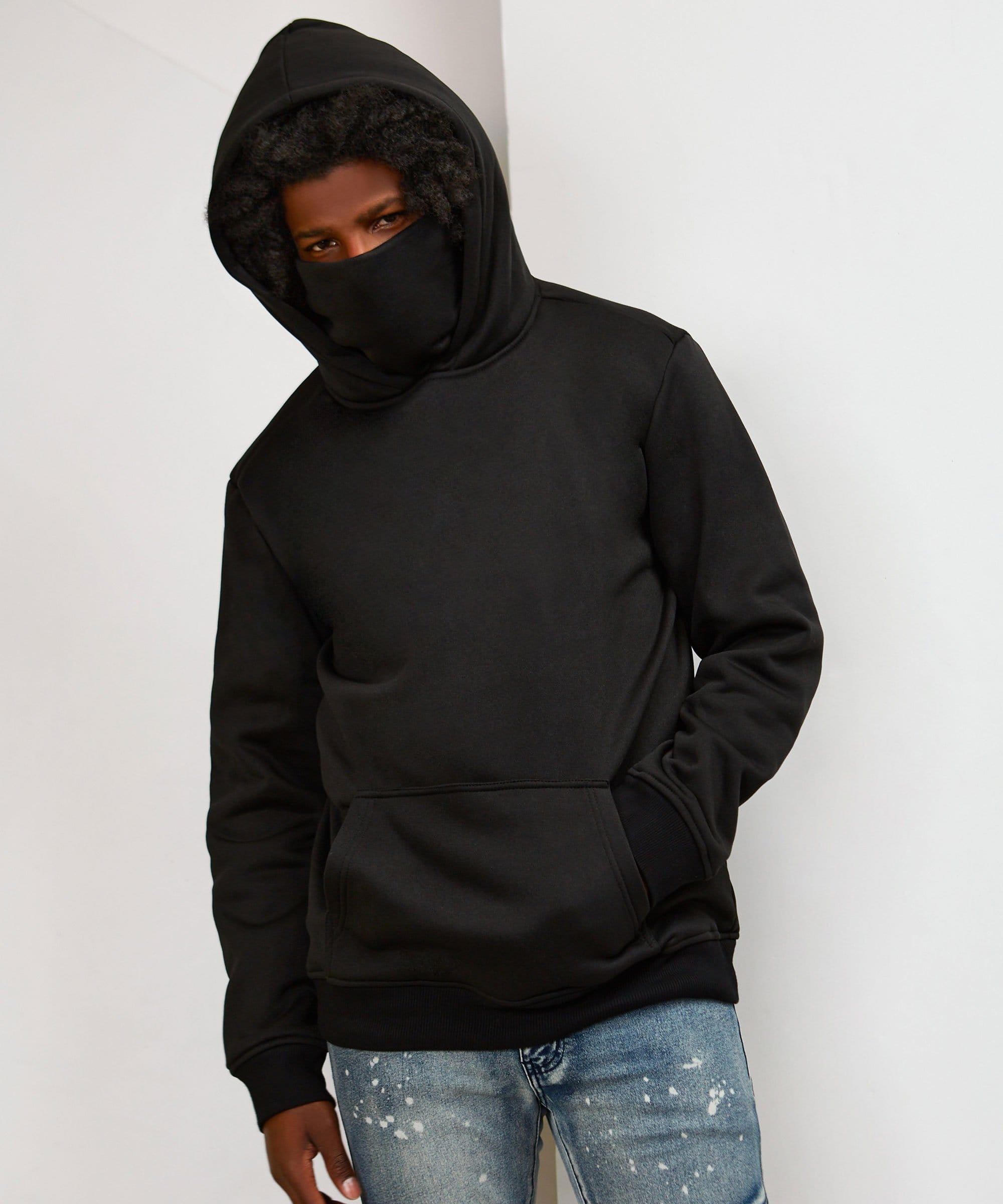 FACE COVER HOODIE