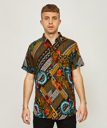 SERPENTS WOVEN SHIRT