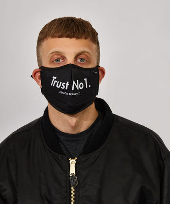 TRUST NO 1 FACE MASK