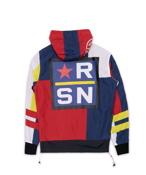 OFFSHORE PULLOVER JACKET - RED Reason Clothing