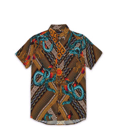SERPENTS WOVEN SHIRT Reason Clothing