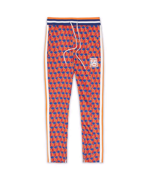 APEX TRACK PANTS - ORANGE - Reason Clothing