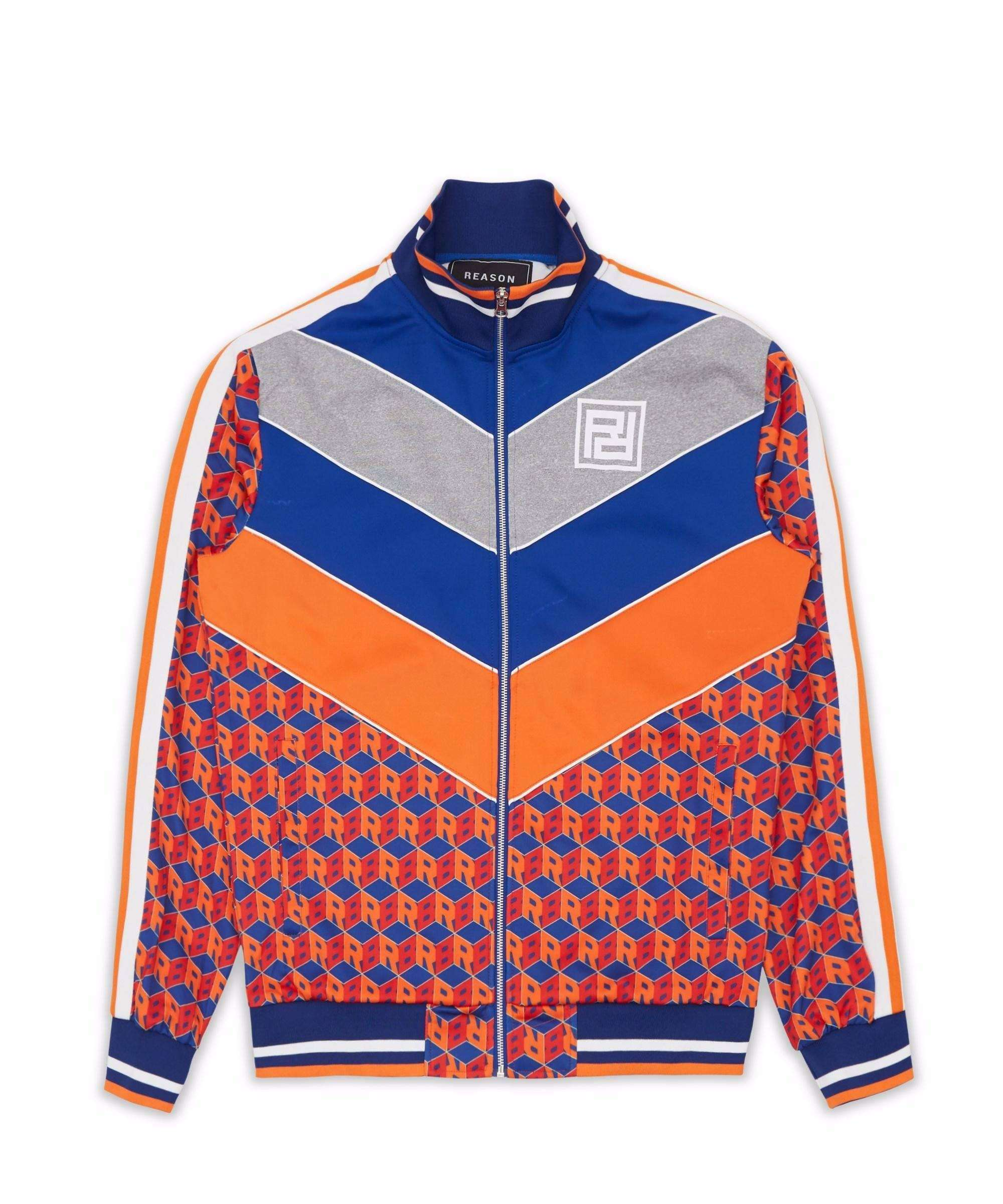 APEX TRACK JACKET - ORANGE Reason Clothing