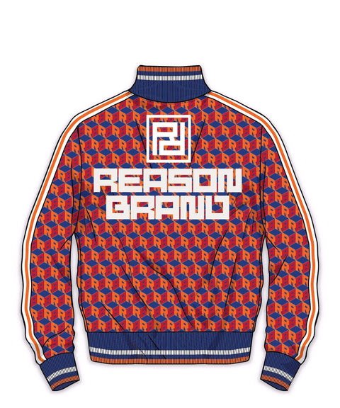 APEX TRACK JACKET - ORANGE - Reason Clothing