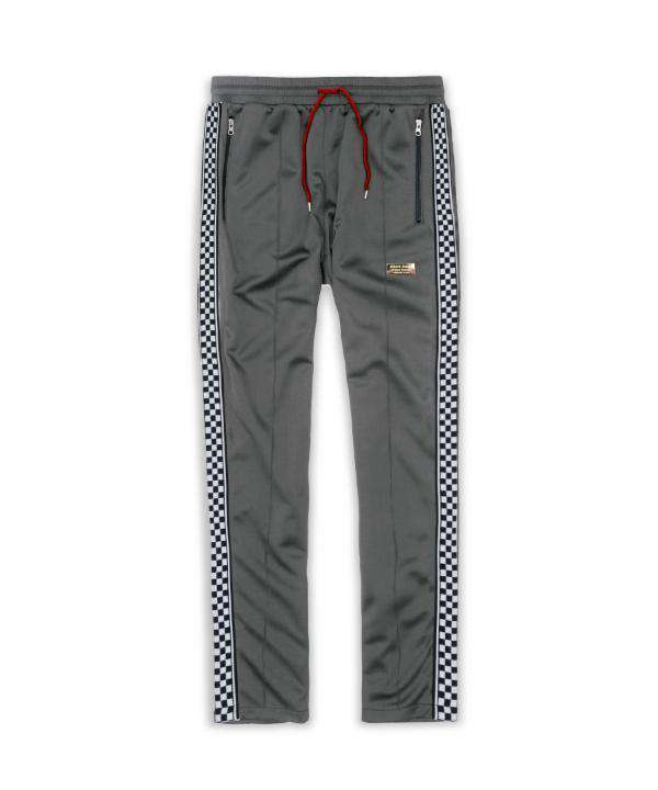 LEXINGTON CHECK TRACK PANTS