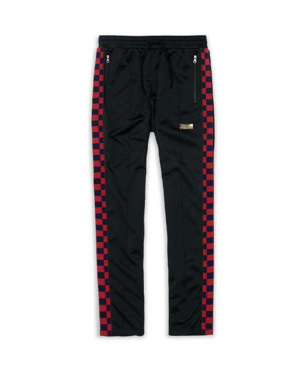 PARKWAY CHECK TRACK PANTS