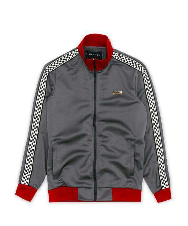 LEXINGTON CHECK TRACK JACKET