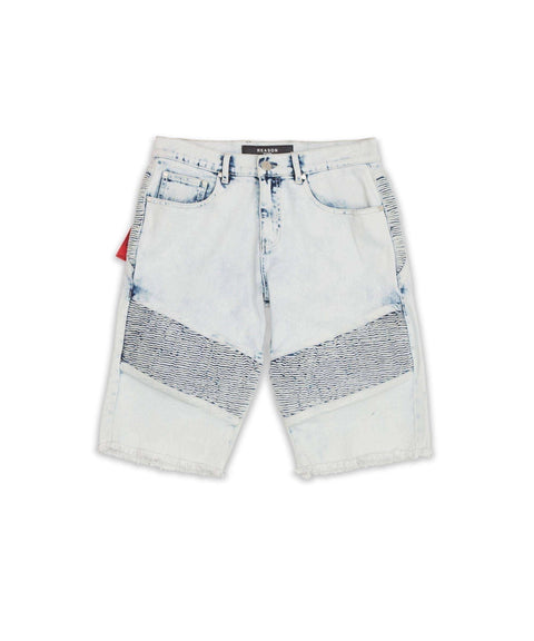 DAUPHIN DENIM SHORT - Reason Clothing