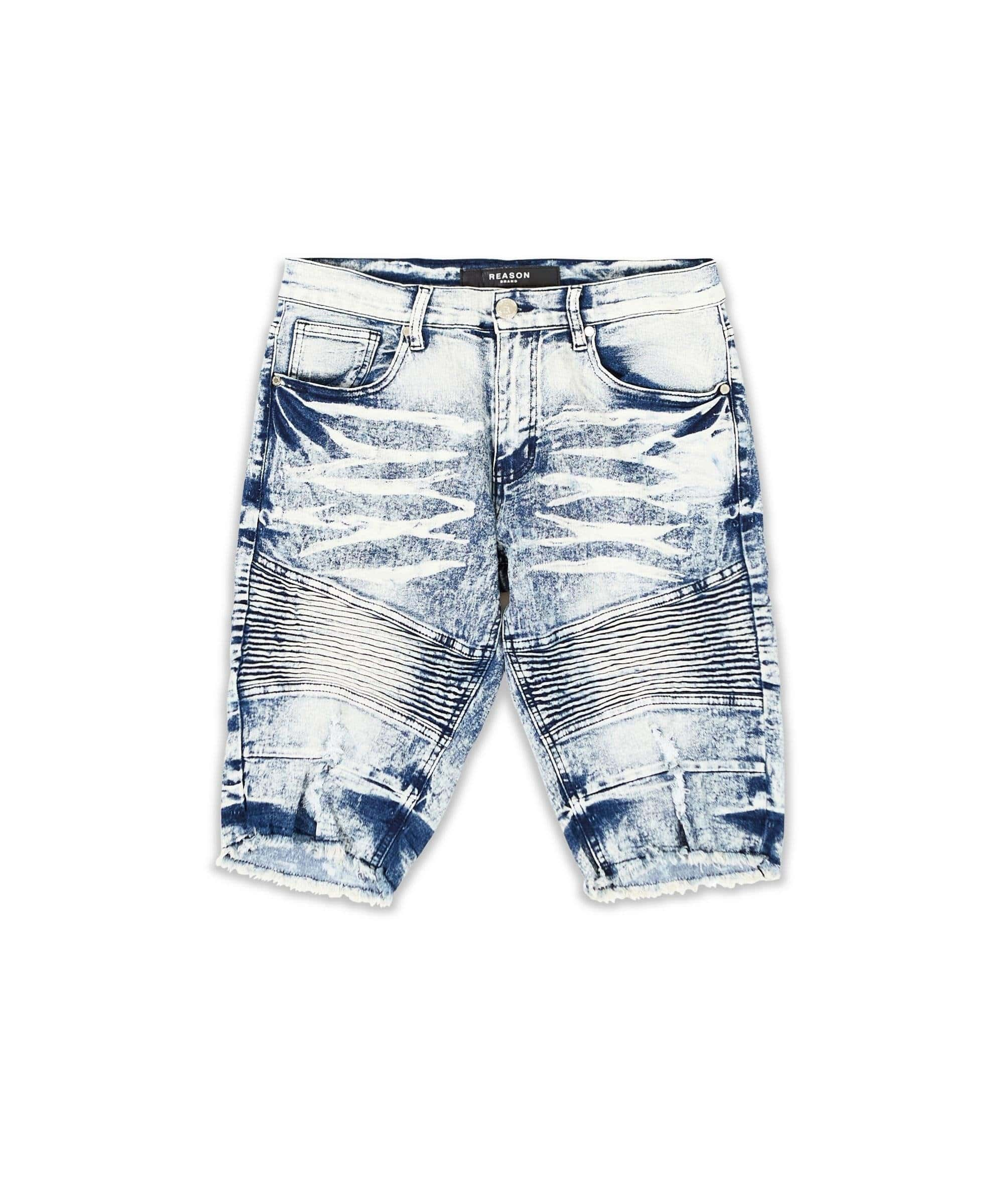 CUMBERLAND DENIM SHORT - Reason Clothing