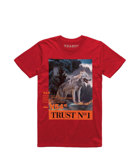 WOLF TEE - RED