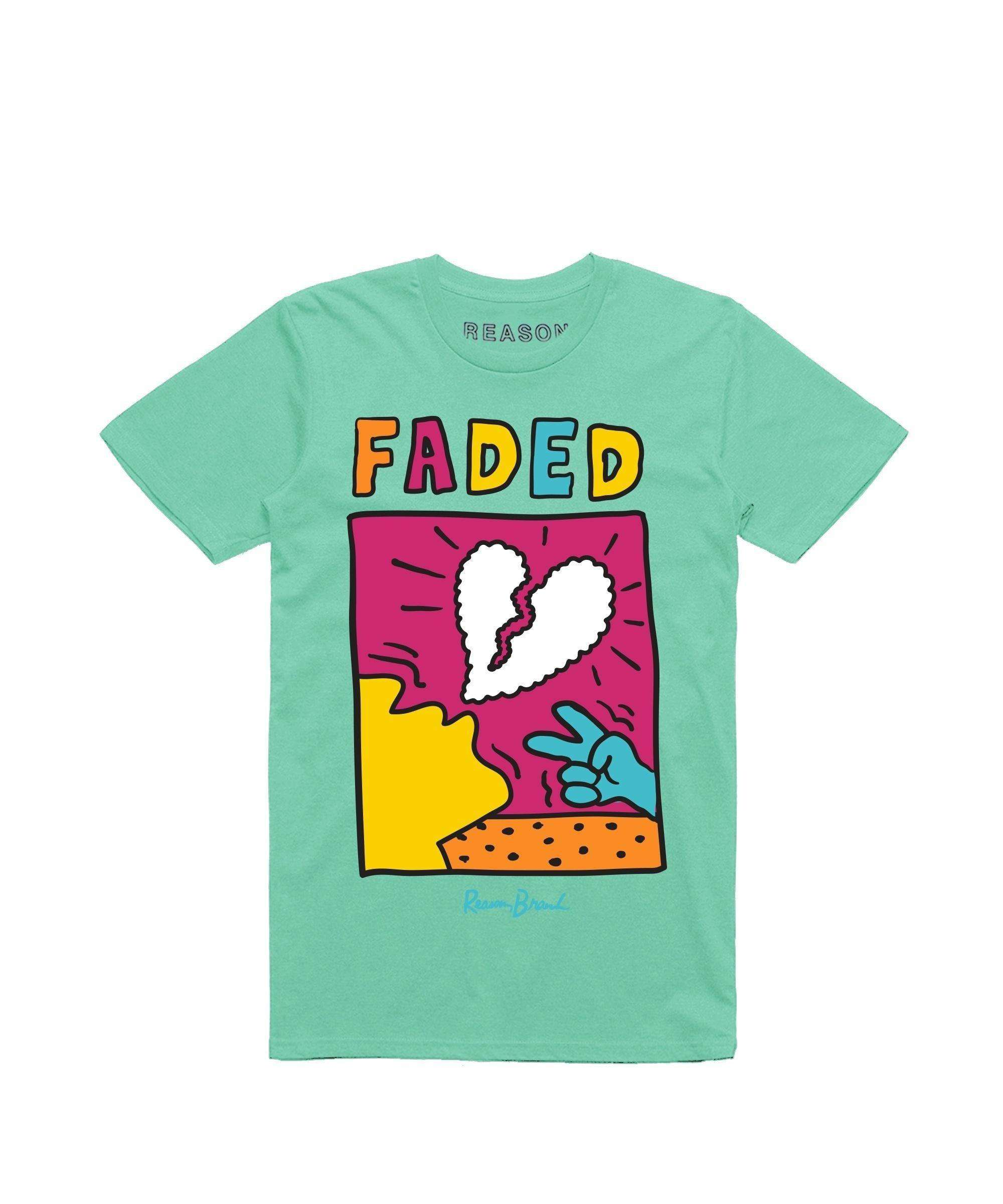 FADED TEE - BLUE Reason Clothing