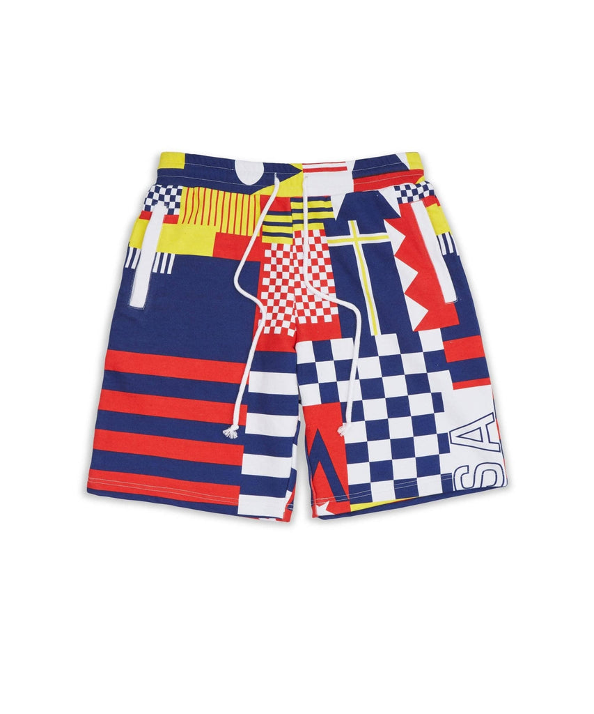NAUTICAL GRID SHORTS - Reason Clothing