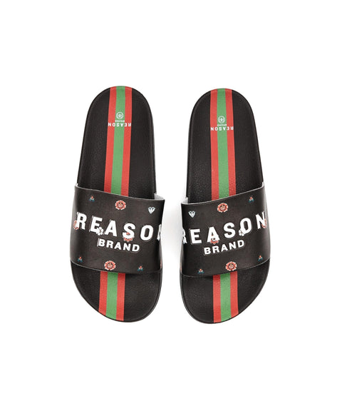 DIAMOND PRINT SLIDES - Reason Clothing