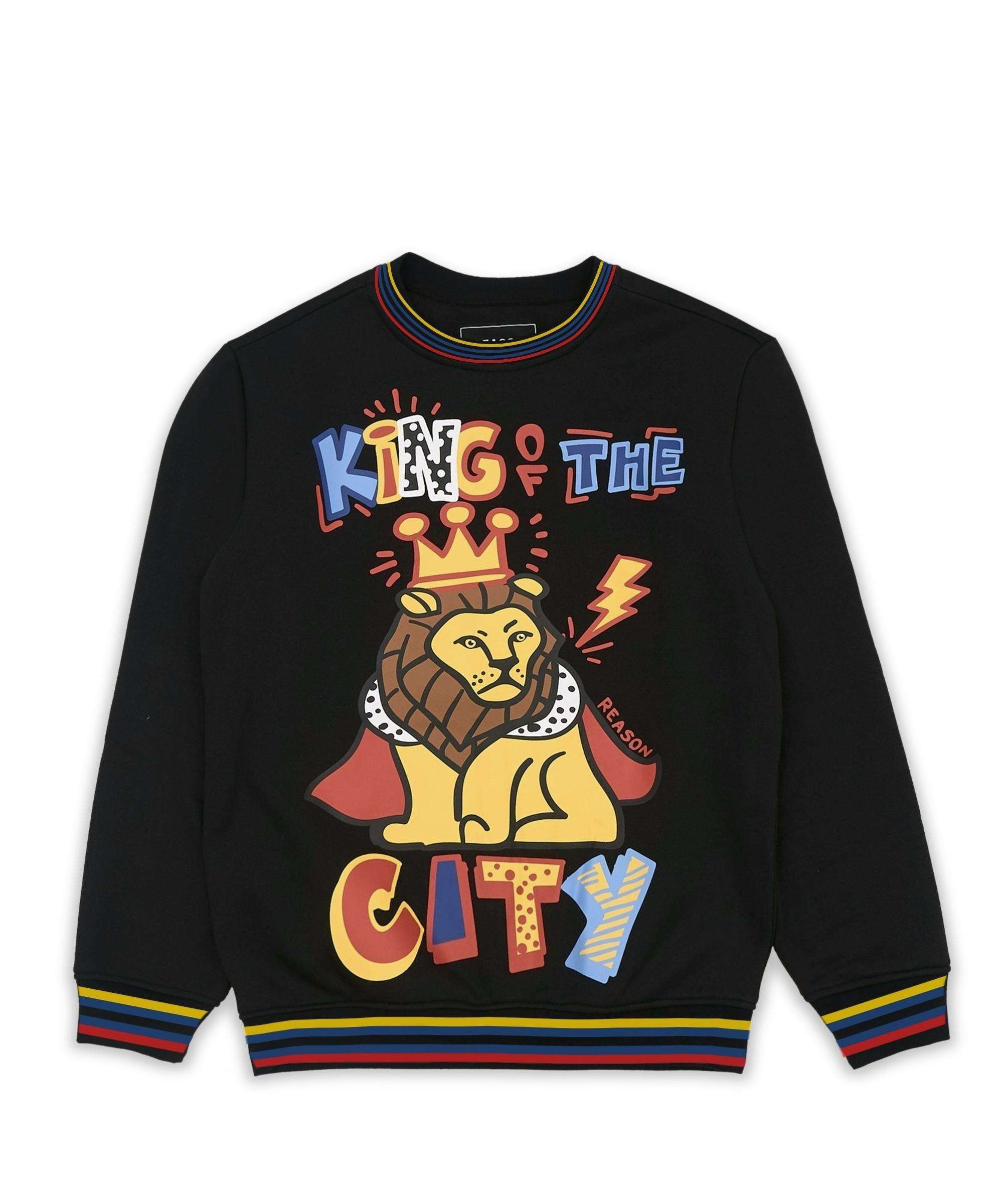 KING OF THE CITY CREWNECK Reason Clothing