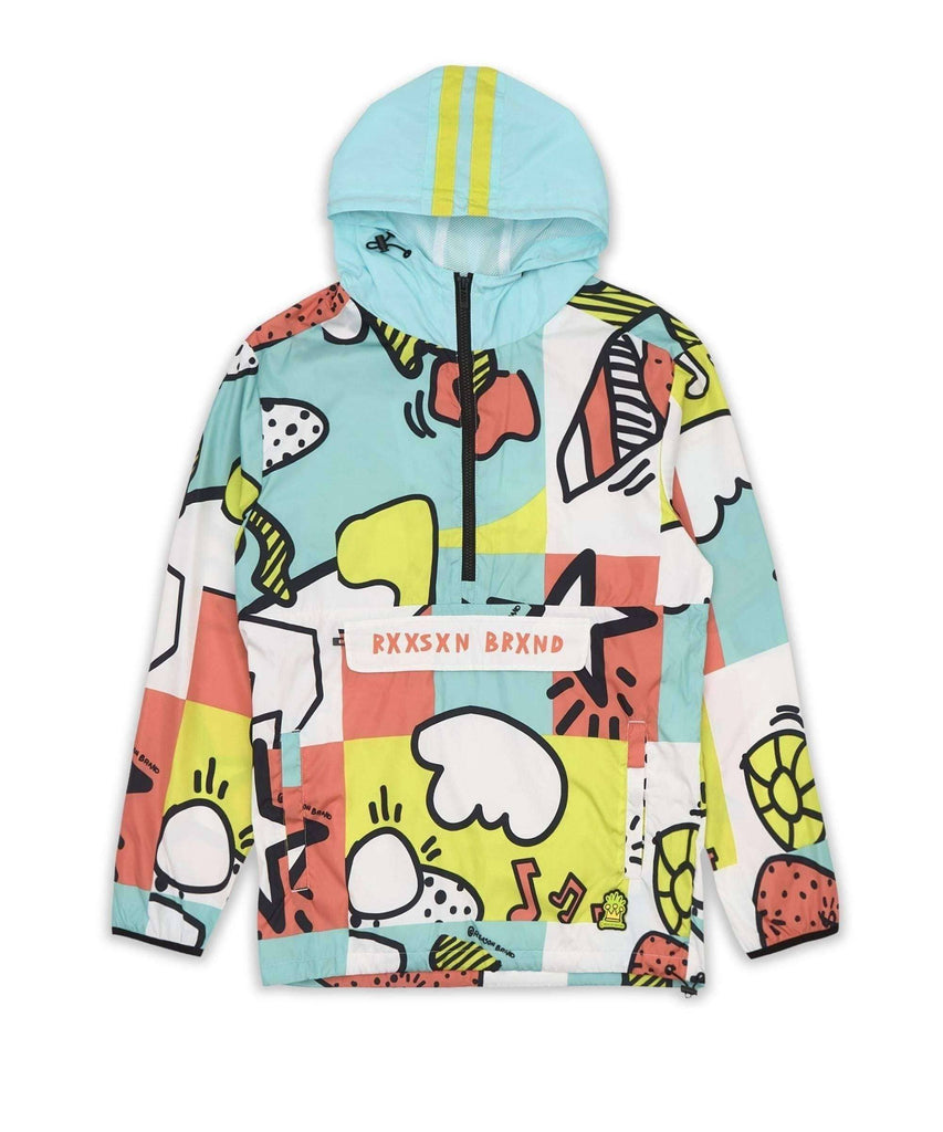 PARTY BLOCK ANORAK Reason Clothing