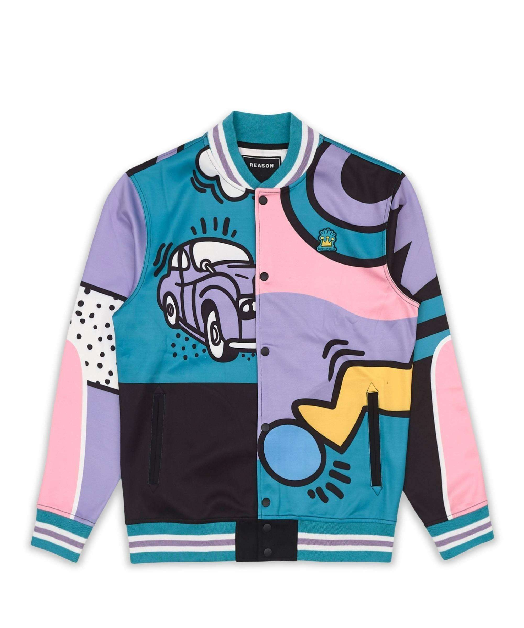 PARTY BLOCK TRACK JACKET Reason Clothing