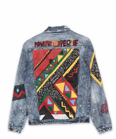 PEOPLE POWER DENIM JACKET Reason Clothing