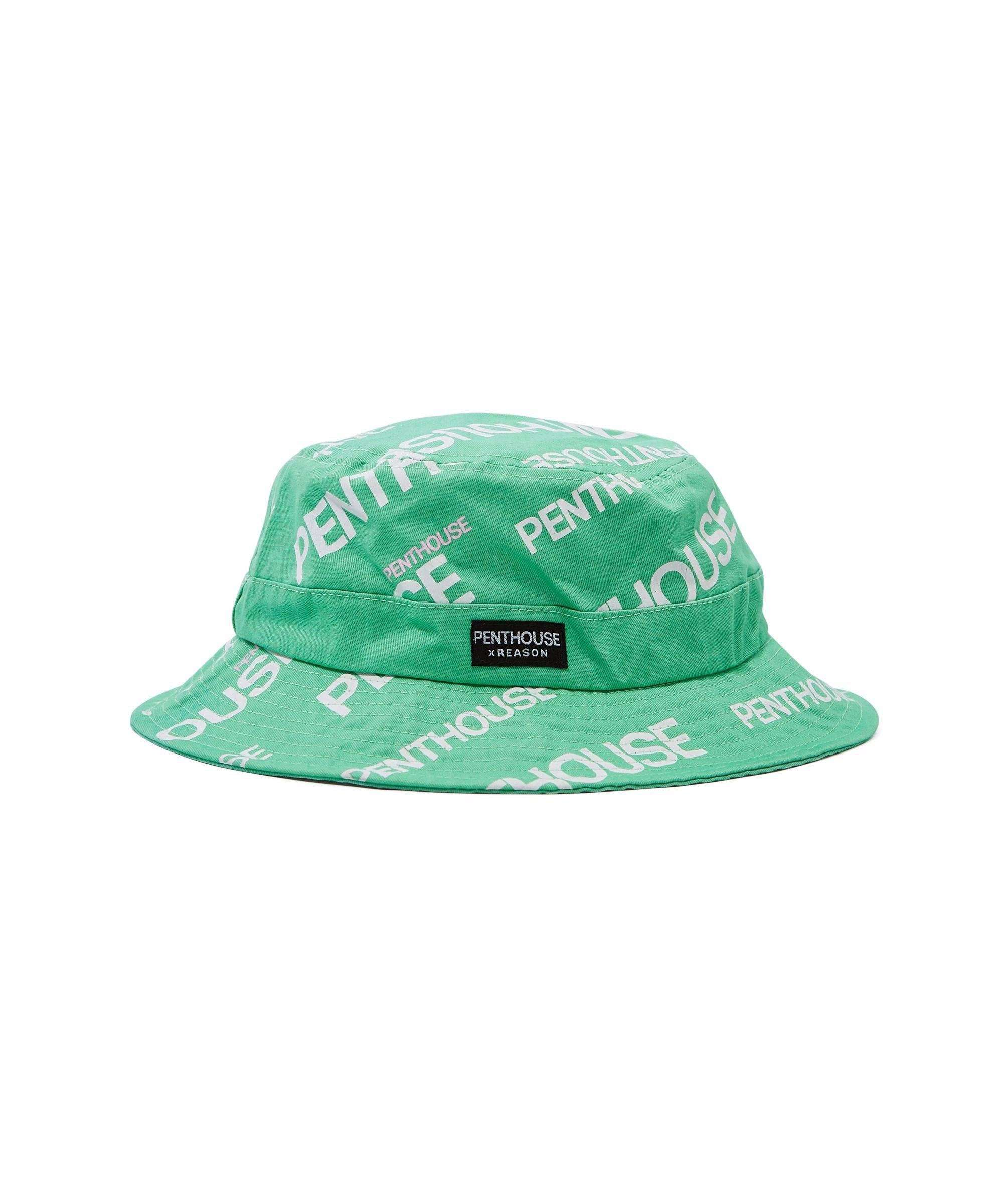PENTHOUSE LOGO BUCKET HAT Reason Clothing