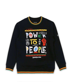 POWER TO THE PEOPLE CREW Reason Clothing