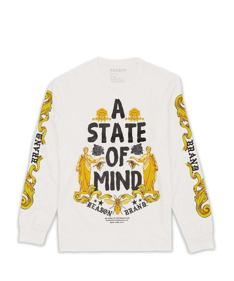 STATE OF MIND L/S TEE Reason Clothing