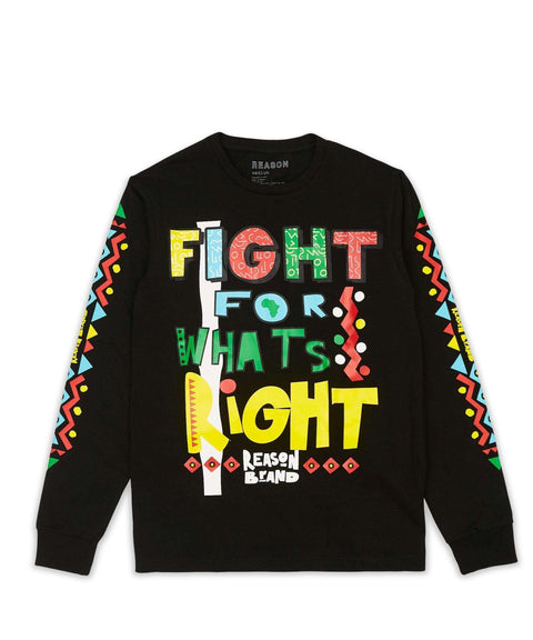 FIGHT L/S TEE Reason Clothing
