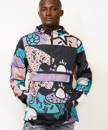 PARTY BLOCK ANORAK
