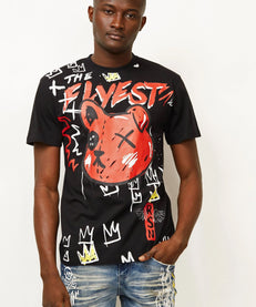 FLYEST TEDDY TEE - BLACK Reason Clothing