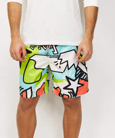 PARTY BLOCK SHORTS