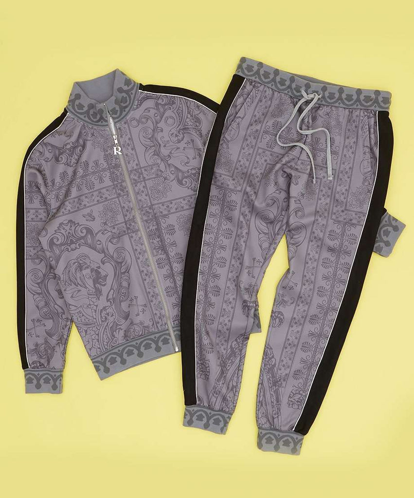 CORINTHIAN TRACK SET - GREY Reason Clothing