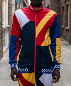 COURTSIDE TRACK JACKET - MULTI Reason Clothing