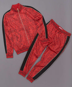 CORINTHIAN TRACK SET - RED Reason Clothing