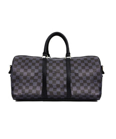 CHECKER FACE DUFFLE