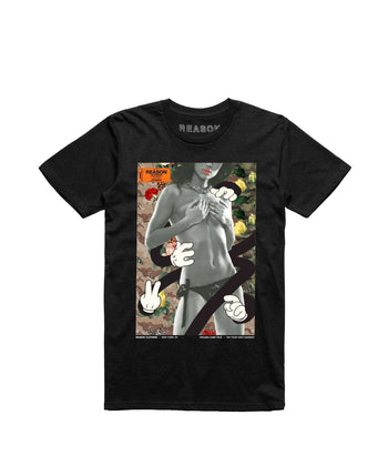 GIRL TEE - BLACK Reason Clothing