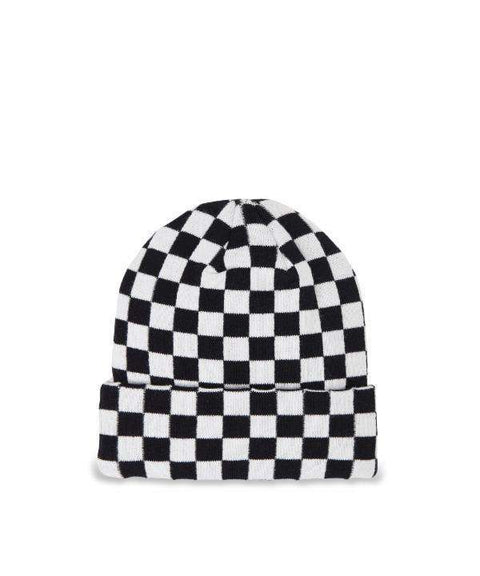CHECKERED BEANIE - Reason Clothing