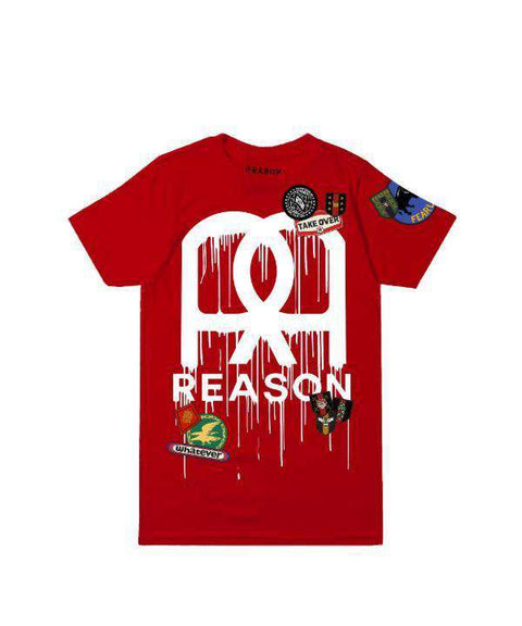 REASON PAINT TEE - RED