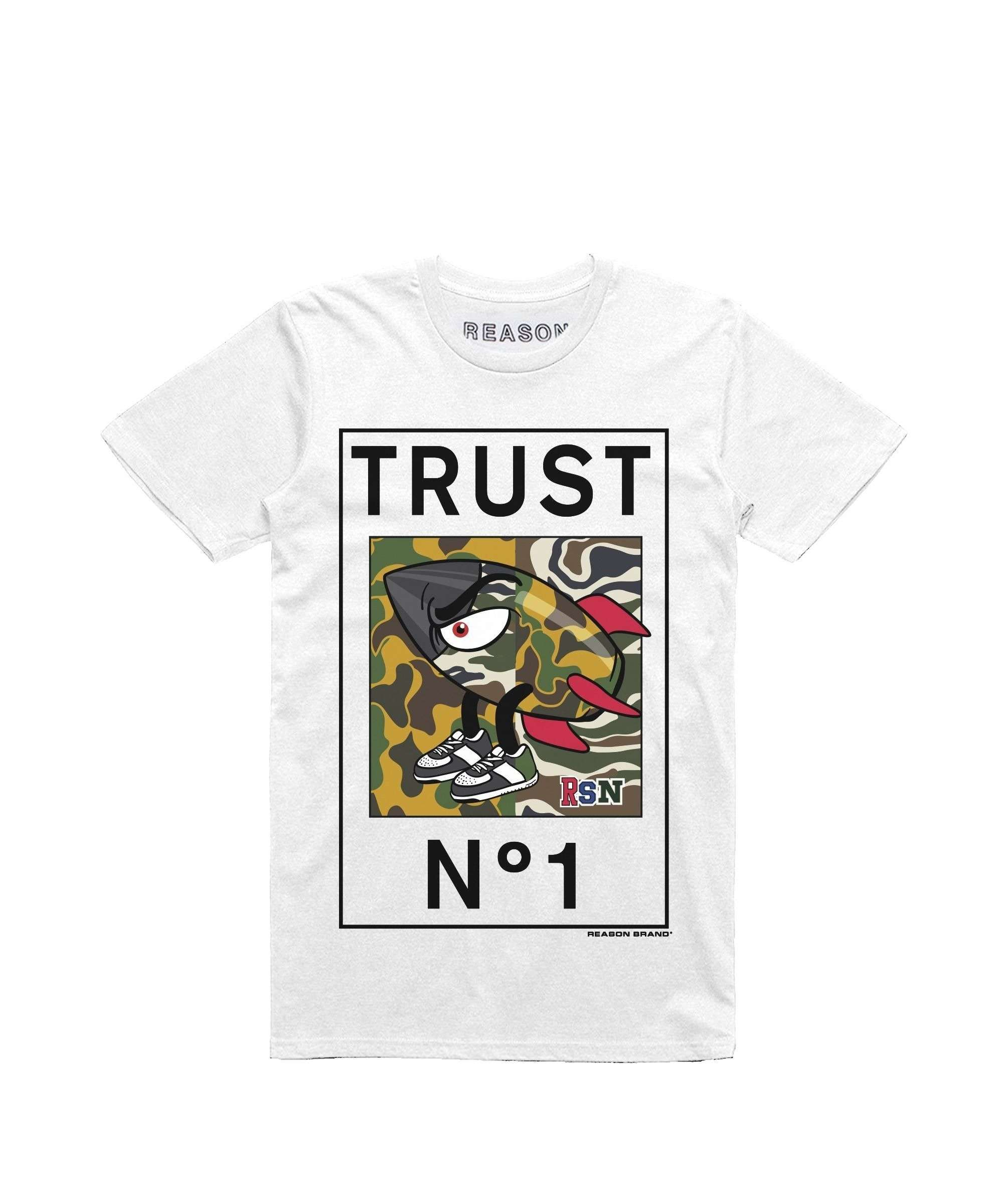 TORPEDO TEE - WHITE Reason Clothing