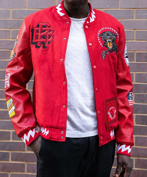 DISRUPTION BOMBER - RED/WHITE