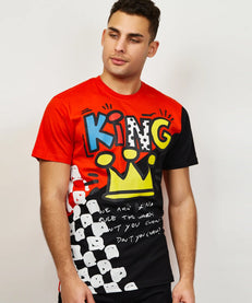 KING OF THE CITY TEE - RED