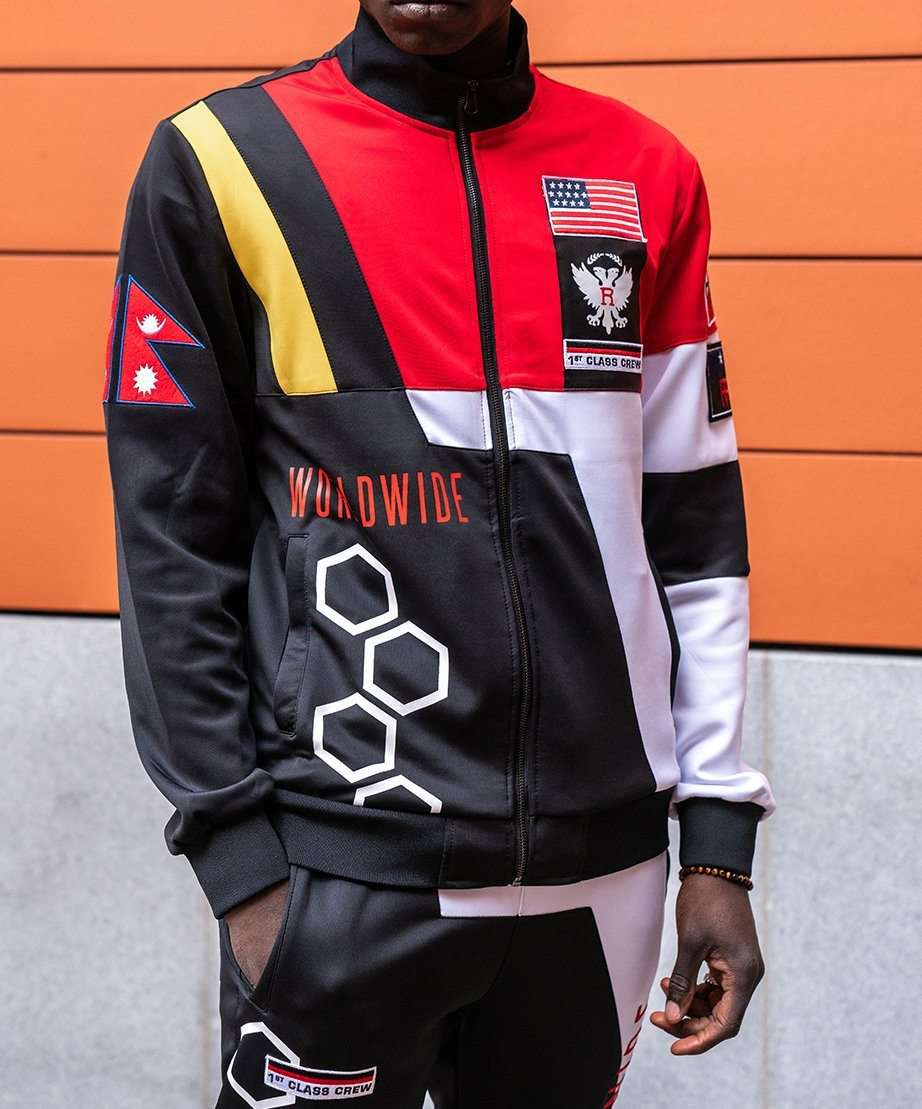 ADVENTURE CLUB TRACK JACKET Reason Clothing