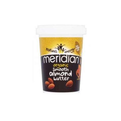 Meridian Almond Butter Smooth 454g - Hyper Bulk Nutrition