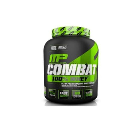 MusclePharm Combat 100% Whey 1.8kg - Hyper Bulk Nutrition