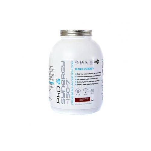 PhD Nutrition Synergy ISO-7 2kg - Hyper Bulk Nutrition