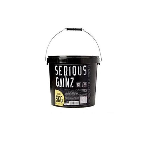 Serious Gainz Mass Gainer 5 kg - Hyper Bulk Nutrition