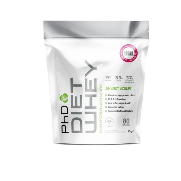 PhD Diet Whey 2kg - Hyper Bulk Nutrition