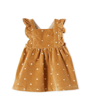 This Milky Clothing Butterscotch Cord Pinni
