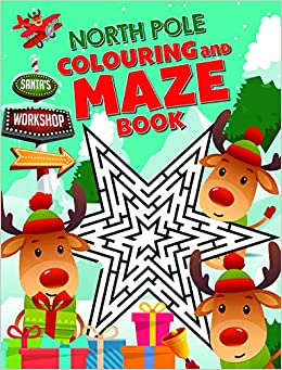 North Pole Maze Book