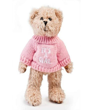 Its Girl - Its a Girl Teddy Bears with Jumper