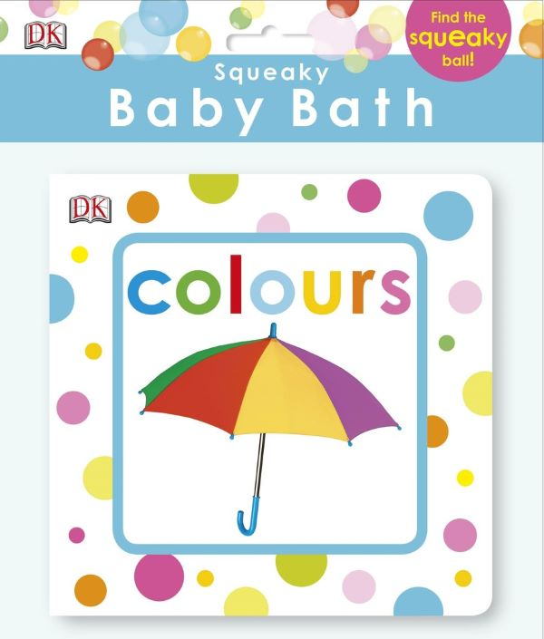 Squeaky baby Bath Book