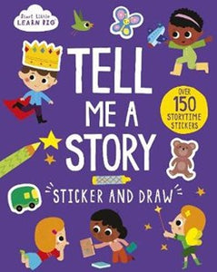 Tell me a story - sticker and draw