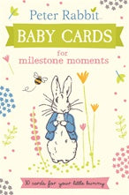 Peter Rabbit Baby Cards - Milestone Moments